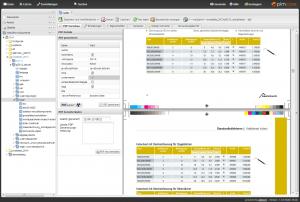 Pimcore Screenshot